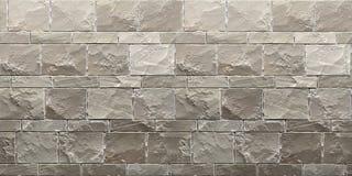 Struttura del brickwall grigio di lerciume 3d rendono illustrazione di stock