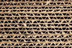 Struttura del cartone ondulato Immagine Stock