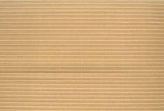 Struttura del cartone ondulato Immagini Stock