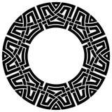 Struttura del celtico del cerchio Fotografia Stock