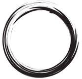 Struttura del cerchio di lerciume illustrazione di stock