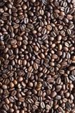 Struttura del chicco di caffè fotografia stock