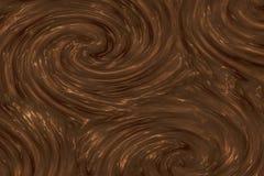 Struttura del cioccolato Immagini Stock