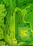 Struttura del circuito elettronico Fotografie Stock