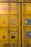 Struttura del contenitore della ruggine Fotografie Stock Libere da Diritti