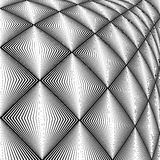 Struttura del convex del diamante di progettazione Immagini Stock