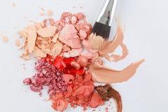 Struttura del cosmetico Fotografie Stock Libere da Diritti