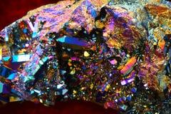 struttura del cristallo dell'arcobaleno Fotografia Stock Libera da Diritti