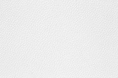 Struttura del cuoio bianco fotografie stock libere da diritti