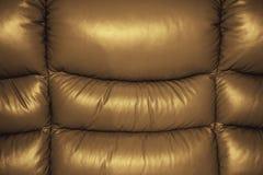 Struttura del cuoio del sofà Fotografia Stock