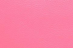 Struttura del cuoio di Pink Fotografia Stock Libera da Diritti