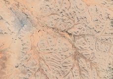 Struttura del deserto arancio e rossa immagine stock libera da diritti