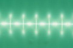 Struttura del diffusore di superficie, plafoniera del LED, modello leggero sul deflecto Immagine Stock