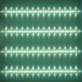 Struttura del diffusore di superficie, plafoniera del LED, modello leggero sul deflecto Fotografie Stock
