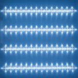 Struttura del diffusore di superficie, plafoniera del LED, modello leggero sul deflecto Fotografia Stock