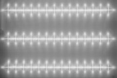 Struttura del diffusore di superficie, plafoniera del LED, modello leggero sul deflecto Fotografia Stock Libera da Diritti