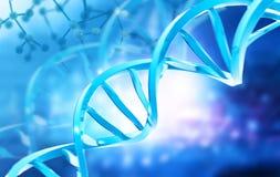 Struttura del DNA illustrazione di stock