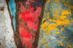 Struttura del ferro di lerciume Fotografia Stock Libera da Diritti