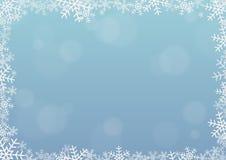 Struttura del fiocco di neve Illustrazione Vettoriale