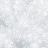 Struttura del fiocco di neve del fondo di Natale Fotografia Stock
