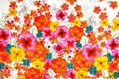 Struttura del fiore fotografie stock libere da diritti