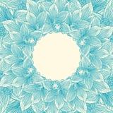 Struttura del fiore dell'orchidea blu Immagini Stock Libere da Diritti