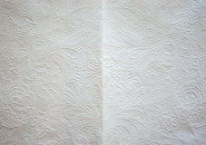 Struttura, del fondo bianco della carta velina di arte Immagine Stock Libera da Diritti