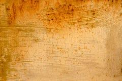 Struttura del fondo dei bordi di legno arancio per progettazione immagine stock