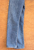 Struttura del fondo dei jeans Immagini Stock Libere da Diritti