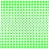 Struttura del fondo dei punti con verde di pendenza su bianco illustrazione di stock