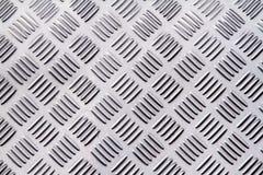 Struttura del fondo del metallo Piatto del diamante Fotografie Stock