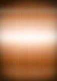 Struttura del fondo del metallo spazzolata rame Fotografia Stock