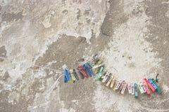 Struttura del fondo della parete del cemento di lerciume Fotografia Stock Libera da Diritti