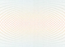 Struttura del fondo della rabescatura - zigzag di pendenza Per il certificato, buono, banconota, buono, progettazione dei soldi,  Fotografie Stock Libere da Diritti