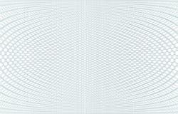 Struttura del fondo della rabescatura - zigzag verde Per il certificato, il buono, la banconota, il buono, la progettazione dei s Immagini Stock Libere da Diritti
