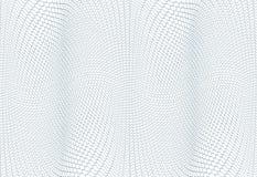 Struttura del fondo della rabescatura - zigzag verde Per il certificato, il buono, la banconota, il buono, la progettazione dei s Fotografia Stock Libera da Diritti