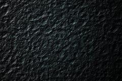 Struttura del fondo della roccia nel nero Immagine Stock