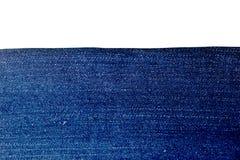 Struttura del fondo delle blue jeans Fotografia Stock