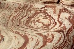 Struttura del fondo di arenaria rossa Fotografia Stock Libera da Diritti