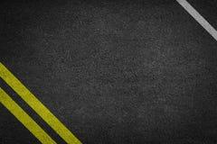 Struttura del fondo di asfalto ruvido Fotografia Stock Libera da Diritti