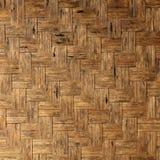 Struttura del fondo di bambù naturale del tessuto Fotografia Stock Libera da Diritti