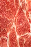 Struttura del fondo di carne grassa cruda per uso come ingrediente di cottura immagine stock