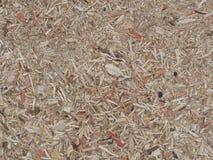 Struttura del fondo di legno compresso riciclato Fotografia Stock Libera da Diritti