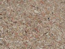Struttura del fondo di legno compresso riciclato fotografia stock