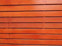 Struttura del fondo di legno della parete dell'assicella fotografia stock