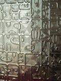Struttura del fondo di vetro di mosaico Fotografia Stock