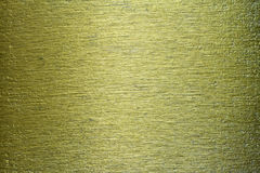 Struttura del fondo graffiata ottone verde del metallo Fotografia Stock