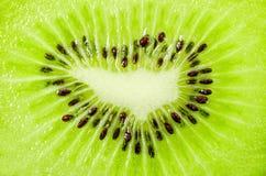 Struttura del frui del kiwi delle fette Fotografia Stock