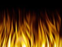Struttura del fuoco Fotografie Stock Libere da Diritti