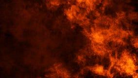 Struttura del fuoco dell'ustione Fiamme su fondo nero isolato Struttura per l'insegna, aletta di filatoio, carta fotografia stock libera da diritti